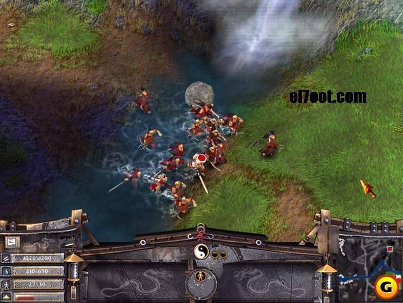 لعبه الحرب الرائعه الاستراتيجيه Battle-Realms اكثر سيرفر
