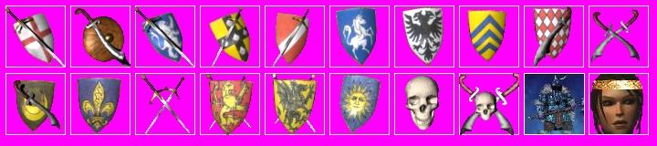 Blason Stronghold crusader