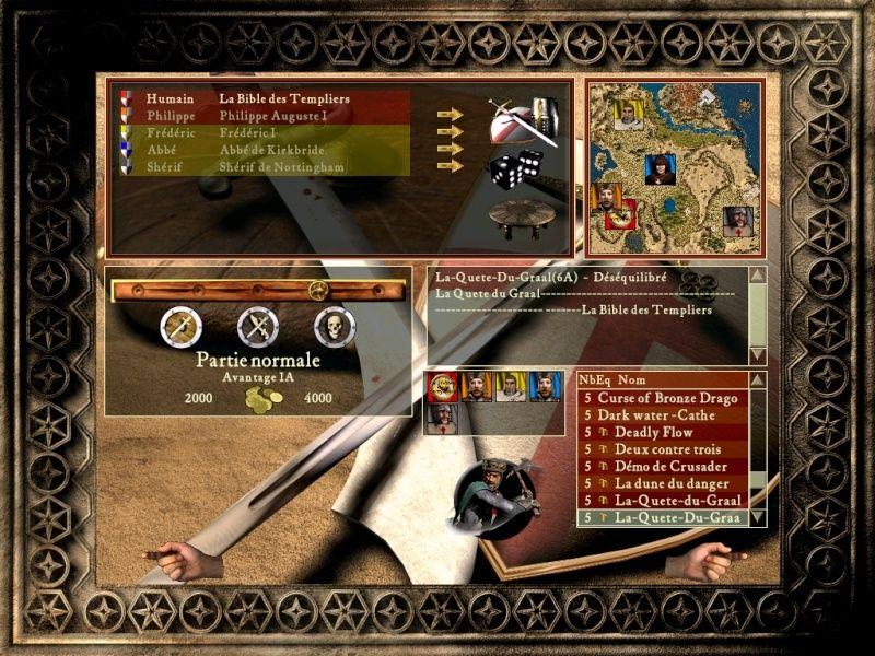 Le Graal map 6