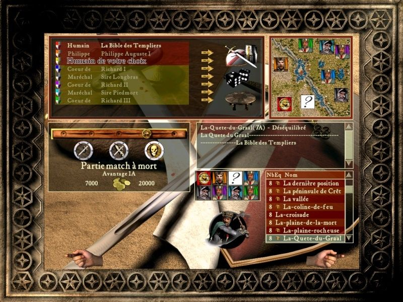 Le Graal map 7