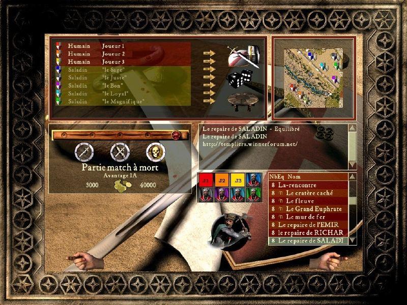 Le repaire de Saladin