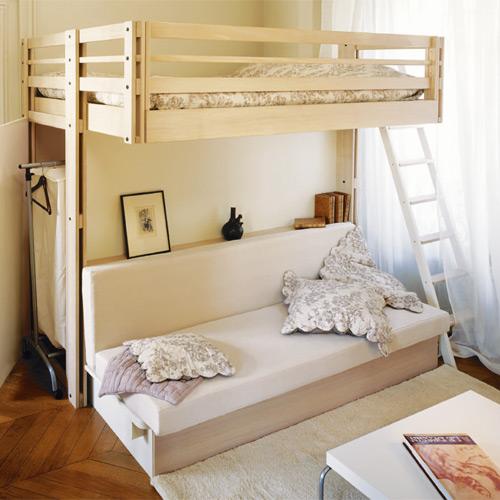 lit mezzanine hauteur 2m. Black Bedroom Furniture Sets. Home Design Ideas