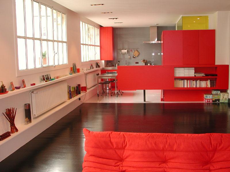 Conseil deco sol cuisine americaine salon - Cuisine et salon ouvert ...