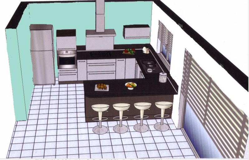 Besoin de conseils pour un salon ouvert sur cuisine for Quelle couleur mur salon