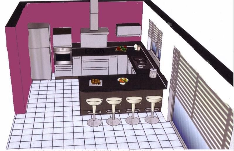 Besoin de conseils pour un salon ouvert sur cuisine for Cuisine en u ouverte sur salon