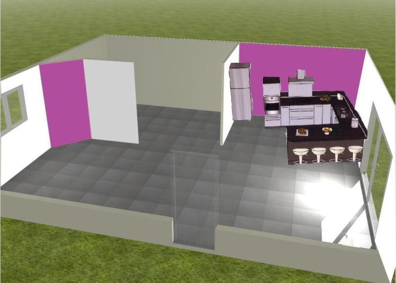 besoin de conseils pour un salon ouvert sur cuisine. Black Bedroom Furniture Sets. Home Design Ideas