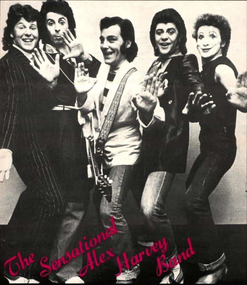 The sensational alex harvey band delilah lyrics