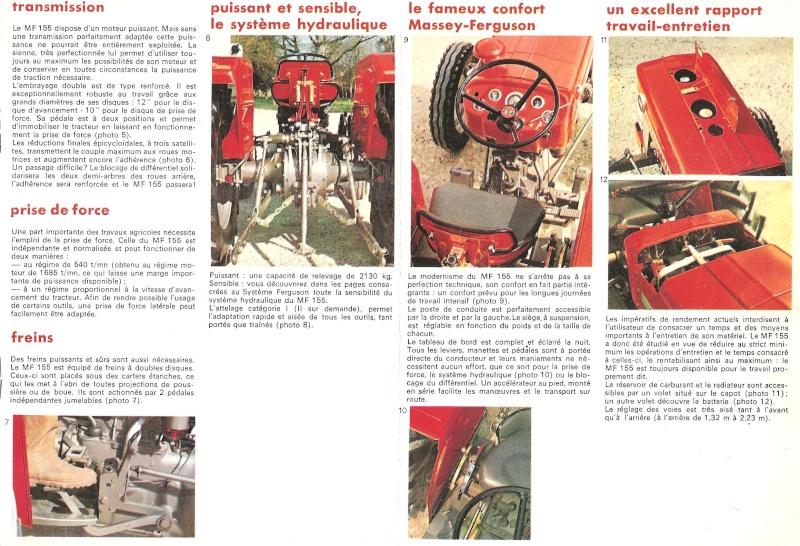 Massey ferguson 152 fiche technique