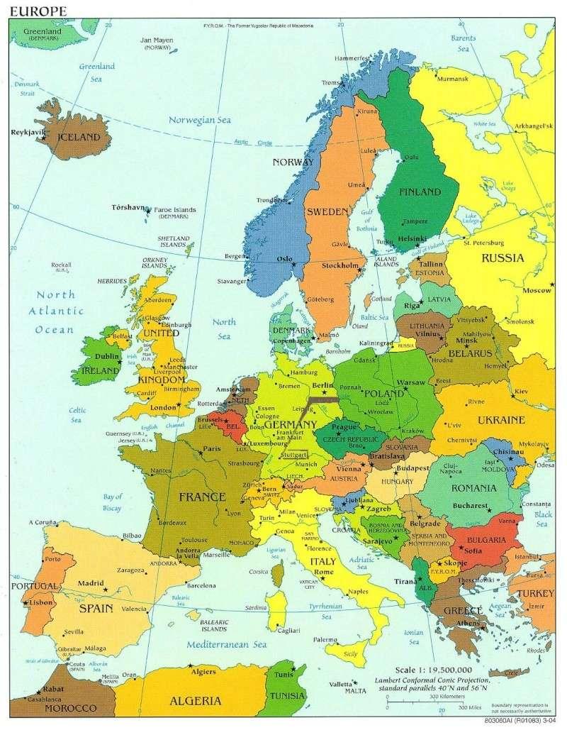Europe politique