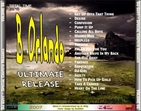 Special Chepeto Mix - volume 06 (Bobby Orlando release)