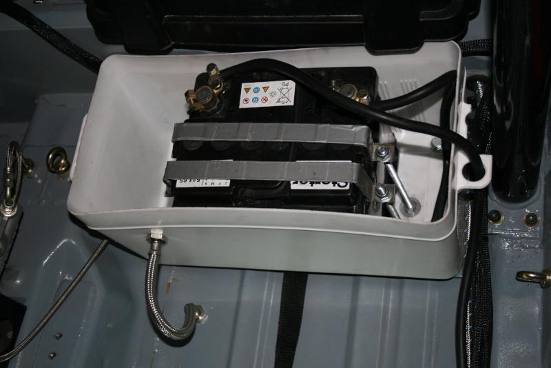 Bac à batterie, support batterie voiture rallye Achat