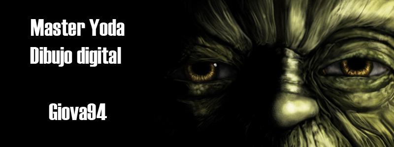 Maestro Yoda [Dibujo digital + Speedpainting]
