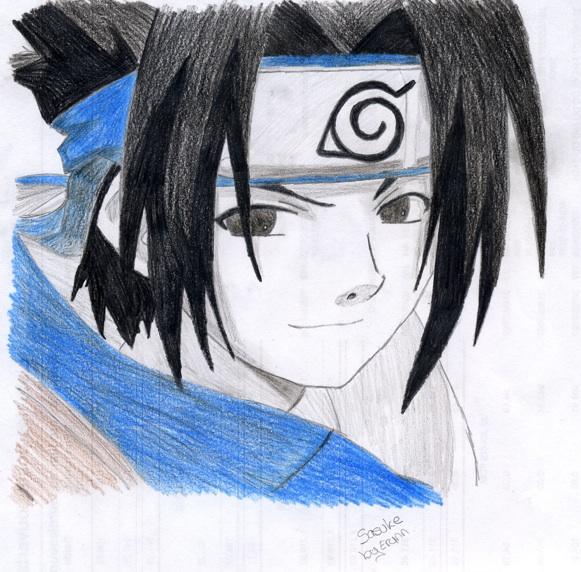 Dessin de sasuke uchiha - Dessin naruto et sasuke ...