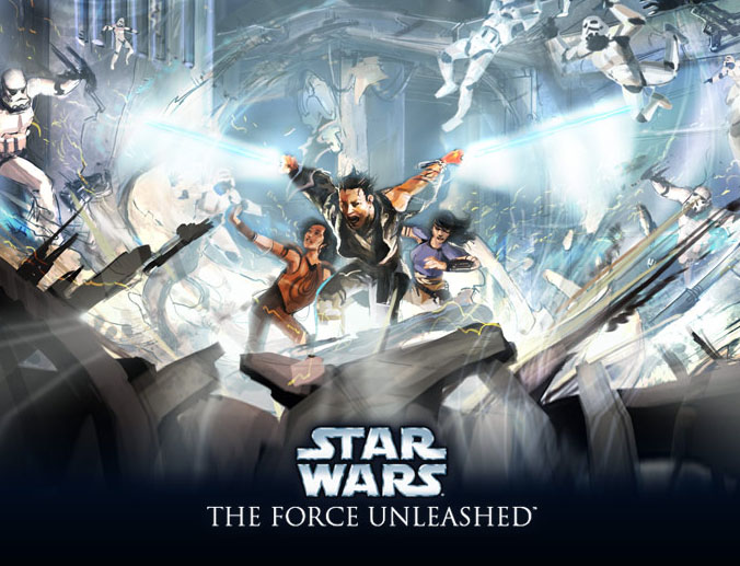 star wars the force unleashed pc supercomprimido