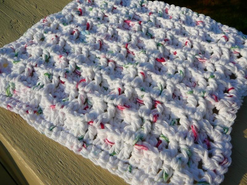 comment tricoter linge a vaisselle