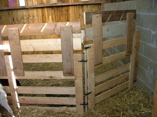 Cornadis r telier et claies - Fabriquer une chevre pour couper le bois ...