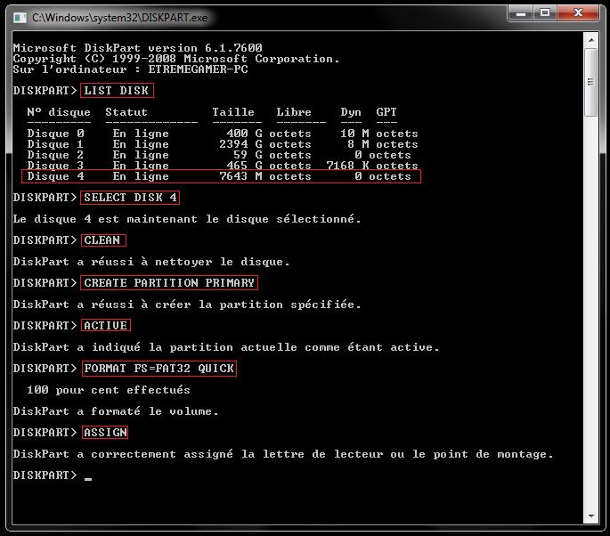 comment installer mysql dans Windows 7 clé d'activation 32 bits