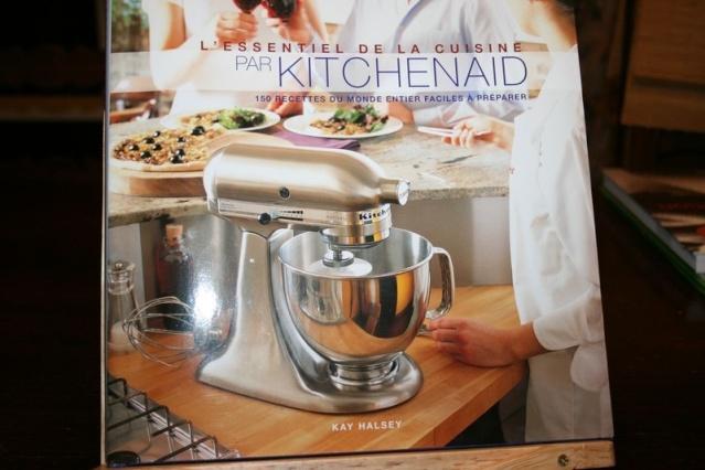 le livre de recettes kitchenaid. Black Bedroom Furniture Sets. Home Design Ideas