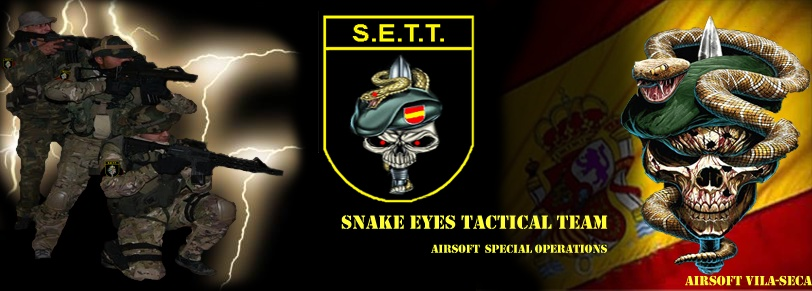 SETT Airsoft Snake Eyes Tactical Team