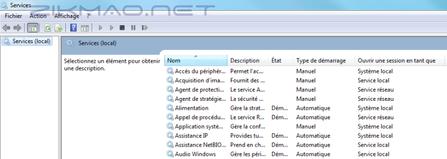 services.msc Windows 7