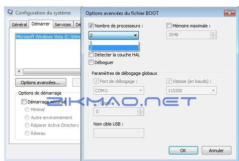 Optimiser le démarrage de Windows 7