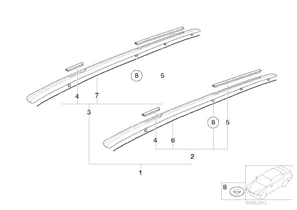 demontage des supports barre de toit sur touring bob41. Black Bedroom Furniture Sets. Home Design Ideas