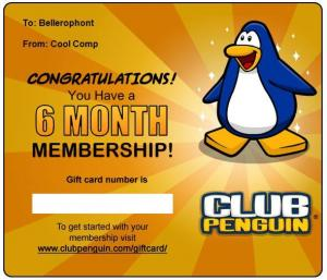 Club Penguin Membership