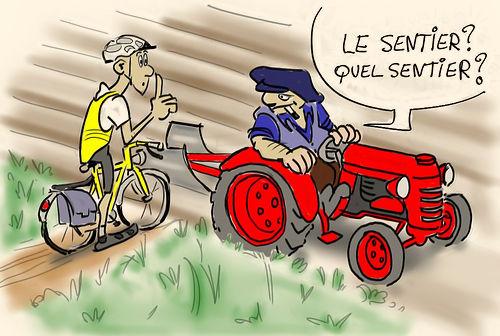 Dessin vtt humour - Dessin cycliste humoristique ...