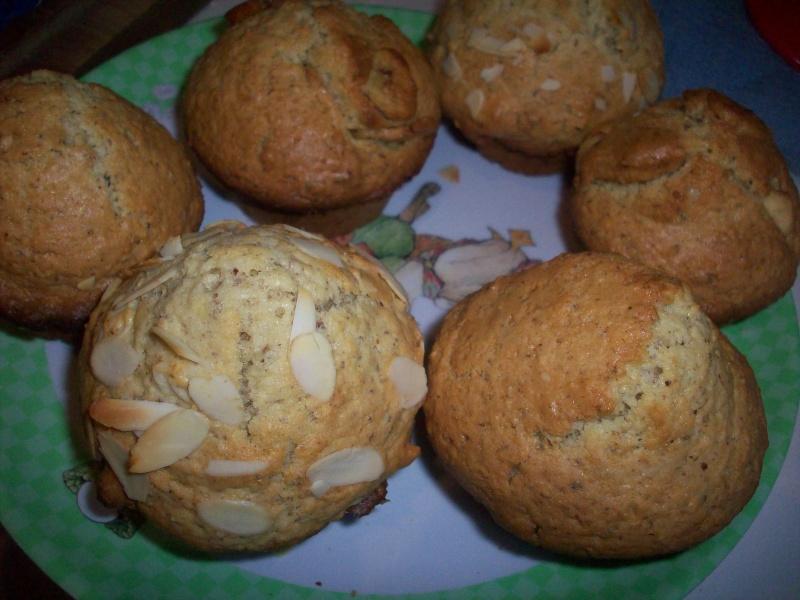 muffins à la poudre de noisette dans cuisine 100_2928