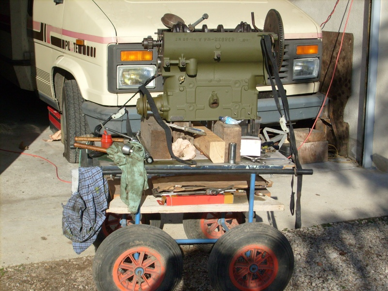Decoration Cuisine Verriere :  Jeep Willys MB  Jeep Hotchkiss M201, jeep Delahaye Peinture moteur
