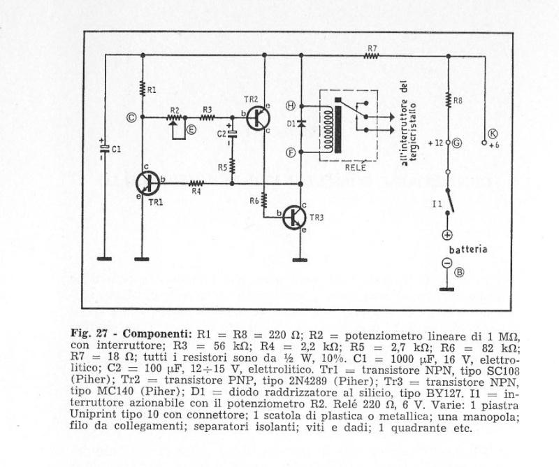 Schema Elettrico Per Temporizzatore : Intermittenza tergicristalli