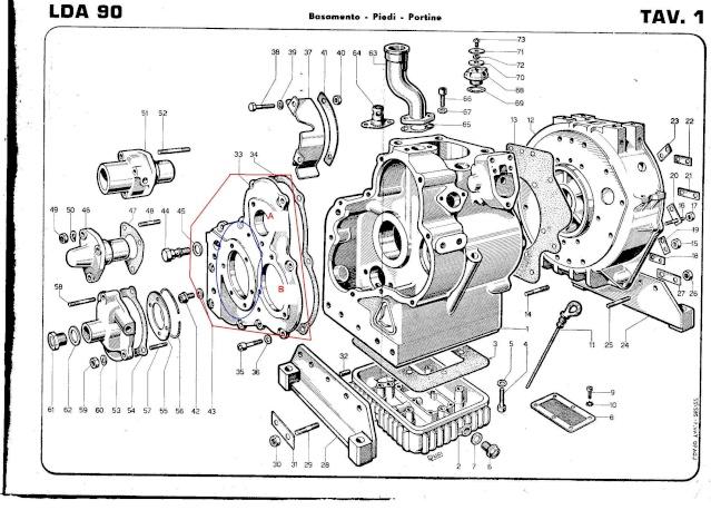 fuite d u0026 39 huile moteur lombardini lda90  2