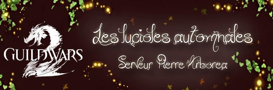 Les Lucioles Automnales - Guild Wars 2 - Monde Pierre Arborea