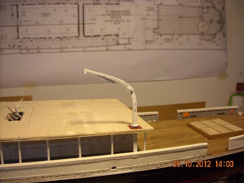 La calypso di cousteau autocostruita su piani museo della for Semplici piani di coperta
