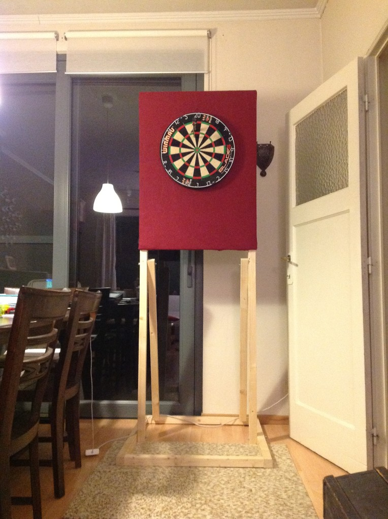 Home Made Darts Stand By Pirke